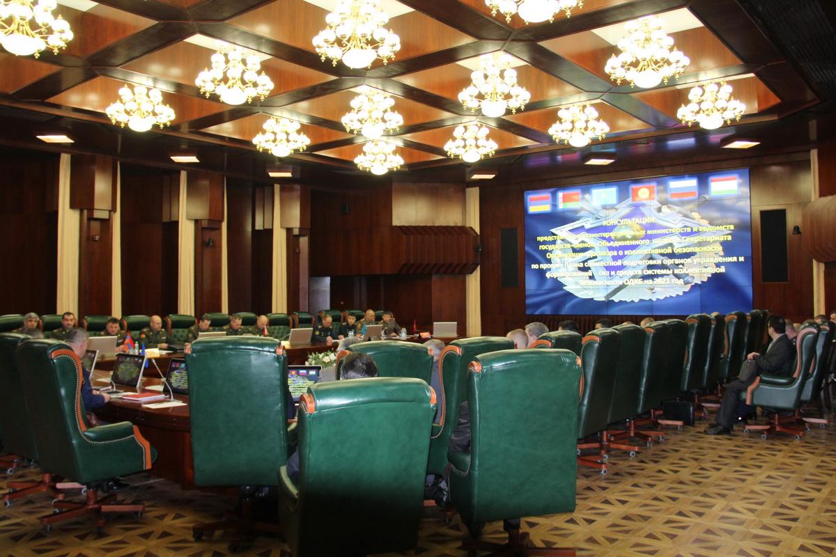 Представители оборонных ведомств государств - членов ОДКБ обсудили План совместной подготовки органов управления и формирований сил и средств системы коллективной безопасности на 2021 год
