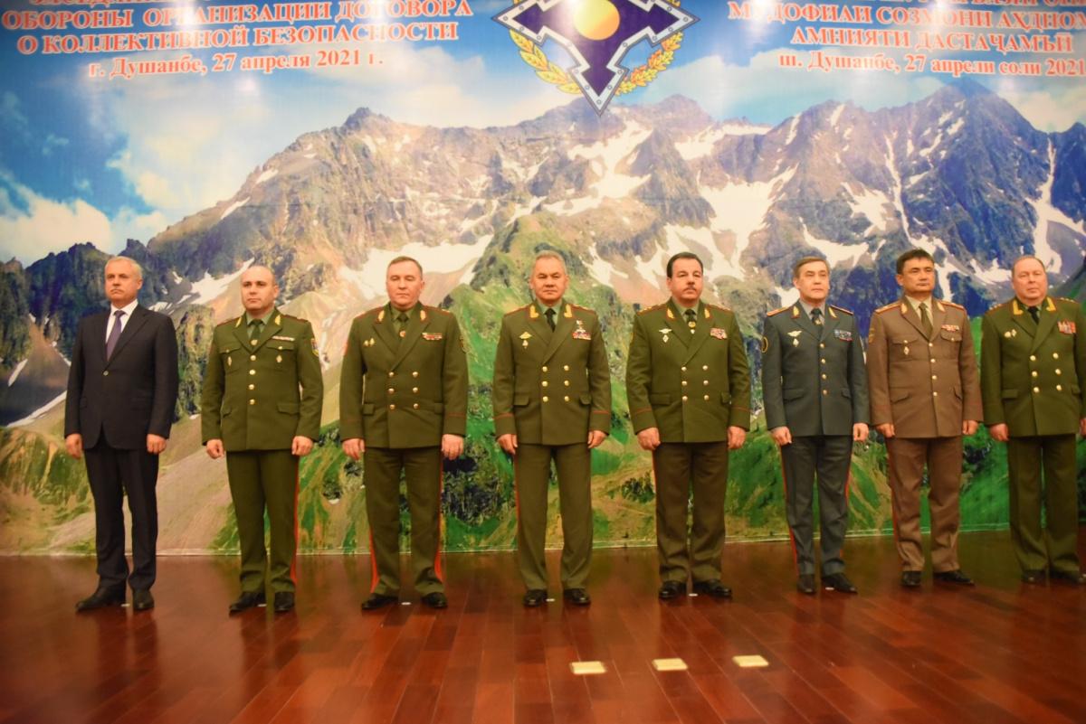 Совет министров обороны ОДКБ обсудил вызовы и угрозы военной безопасности в зоне ответственности Организации