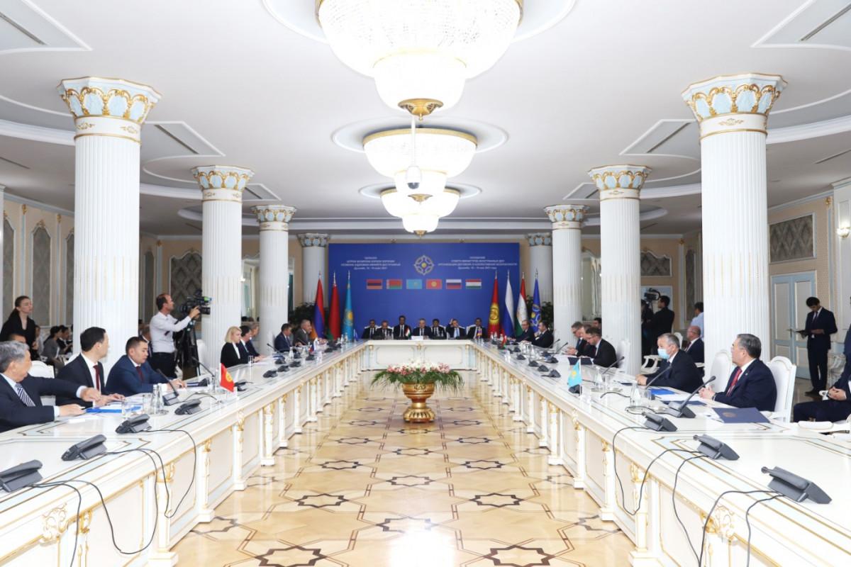 Совет министров иностранных дел ОДКБ в Душанбе обсудил международную обстановку и ее влияние на безопасность государств – членов Организации. Принято четыре важных политических заявления