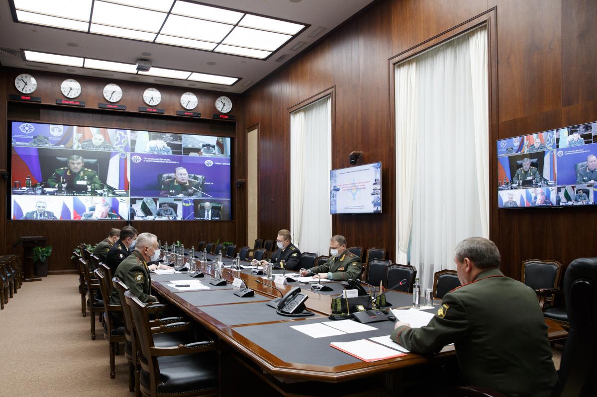 Военный комитет ОДКБ обсудил в режиме видеоконференции вопросы развития военного сотрудничества государств – членов Организации Договора о коллективной безопасности