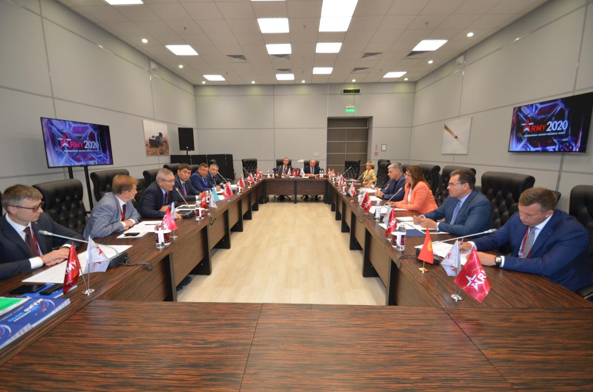 XII заседание Координационного совета  уполномоченных органов государств–членов ОДКБ по вопросам  рекламно-выставочной деятельности состоялось в рамках Форума «АРМИЯ–2020»