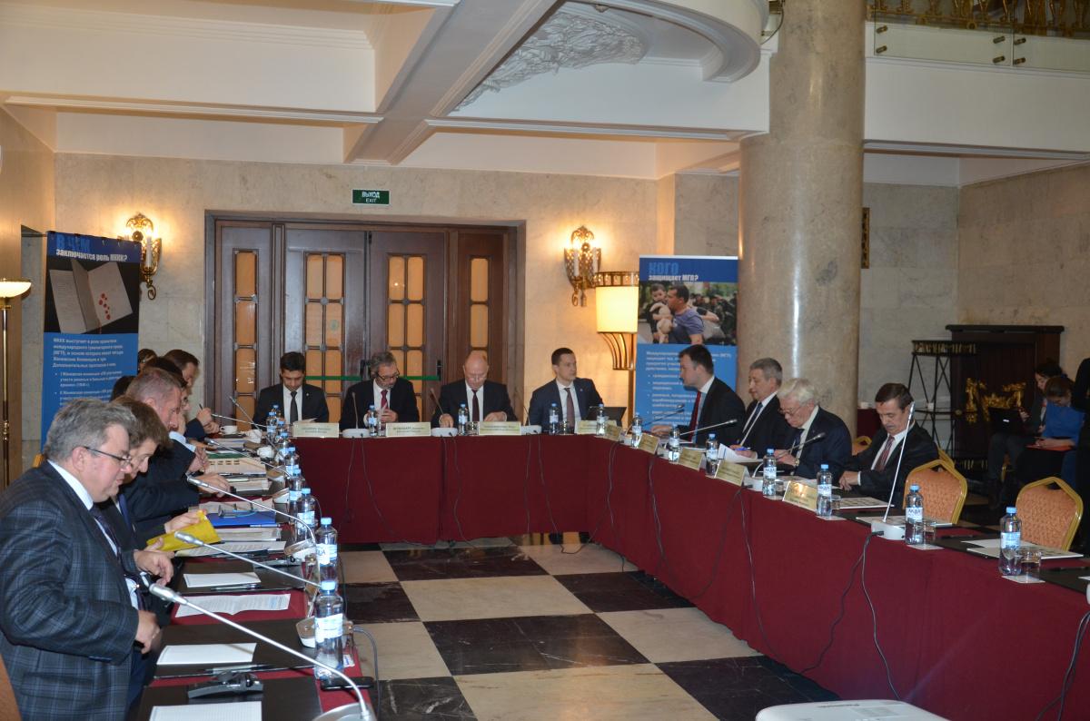 ОДКБ и Международный Комитет Красного Креста провели в Москве V Координационное совещание на высоком уровне