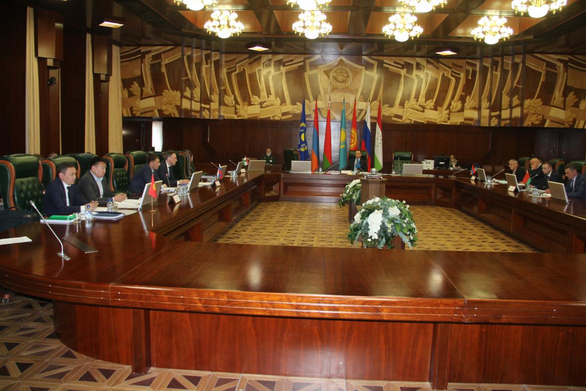 Состоялось заседание Рабочей группы по вопросам военно-экономического сотрудничества при Председателе Межгосударственной комиссии по военно-экономическому сотрудничеству ОДКБ