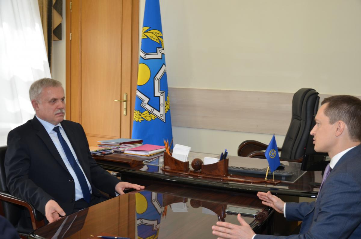 Генеральный секретарь ОДКБ встретился с Ответственным секретарем Парламентской Ассамблеи ОДКБ Сергеем Поспеловым