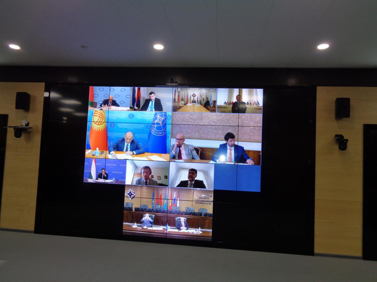 На заседании Рабочей группы по Афганистану обсудили меры, предпринимаемые в ОДКБ для минимизации угроз безопасности государств — членов Организации