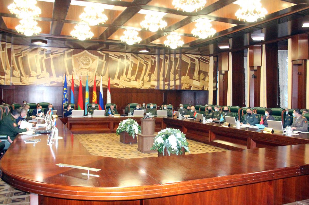 В Объединенном штабе ОДКБ состоялись штабные переговоры по подготовке совместных учений с Коллективными силами в 2021 году