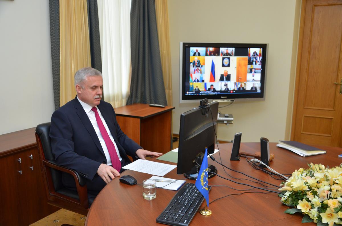 Генеральный секретарь ОДКБ выступил на восьмой встрече секретарей советов безопасности государств - участниц СНГ