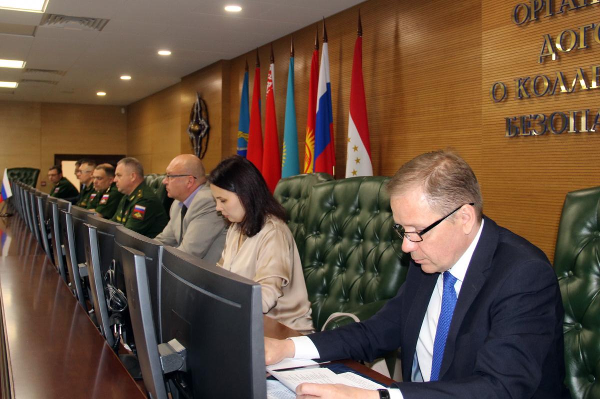 В Центре кризисного реагирования ОДКБ обсуждены вопросы совместного материально-технического и медицинского обеспечения Коллективных сил ОДКБ