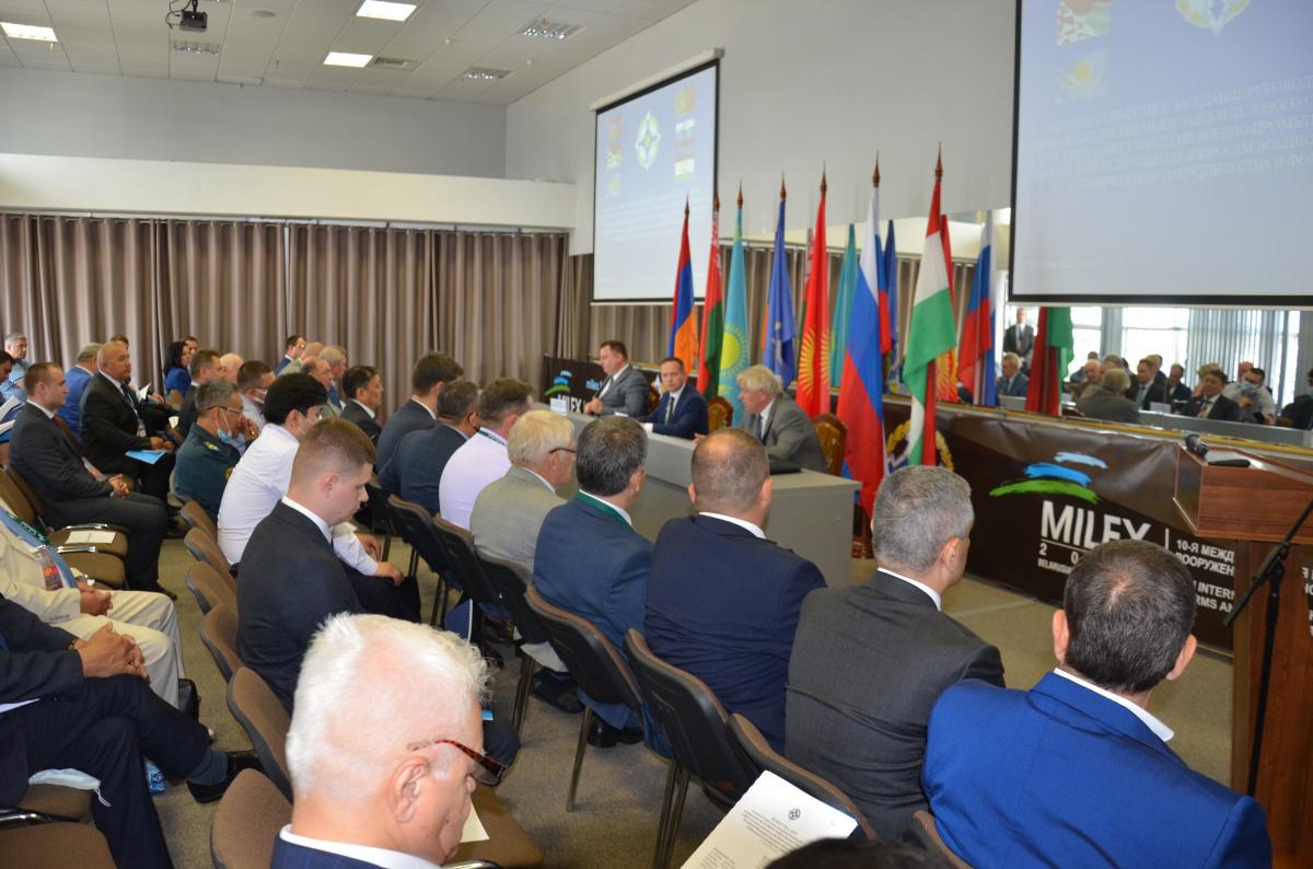 В рамках деловой программы 10-й Международной выставки вооружения и военной техники «MILEX-2021» проведены мероприятия в формате ОДКБ