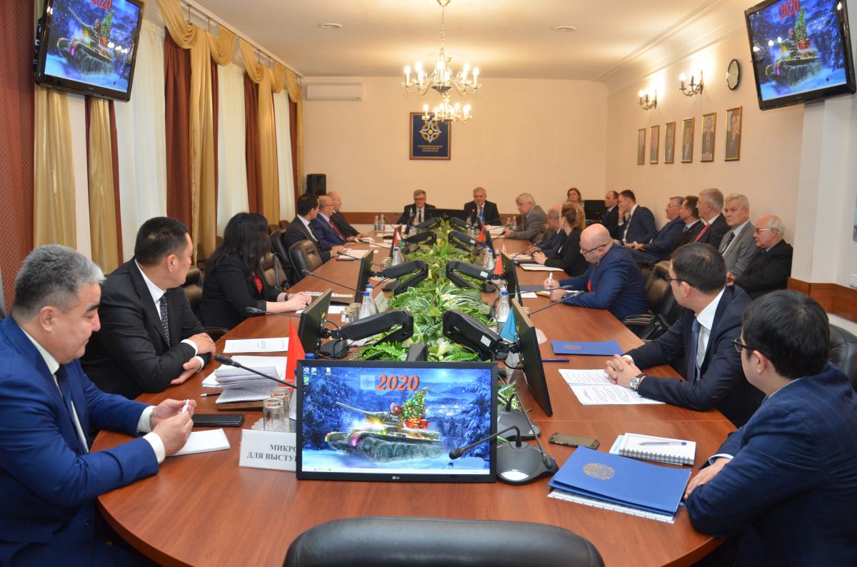 Состоялось первое заседание Постоянного совета ОДКБ в 2020 году. Рассмотрен ряд политических заявлений по актуальным вопросам международной безопасности