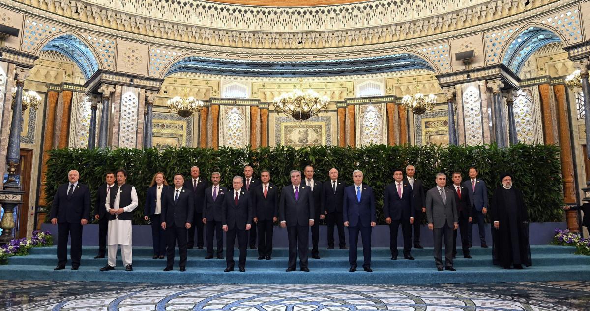 Генеральный секретарь ОДКБ Станислав Зась принял участие в совместном заседании глав государств - членов ШОС и ОДКБ в Душанбе