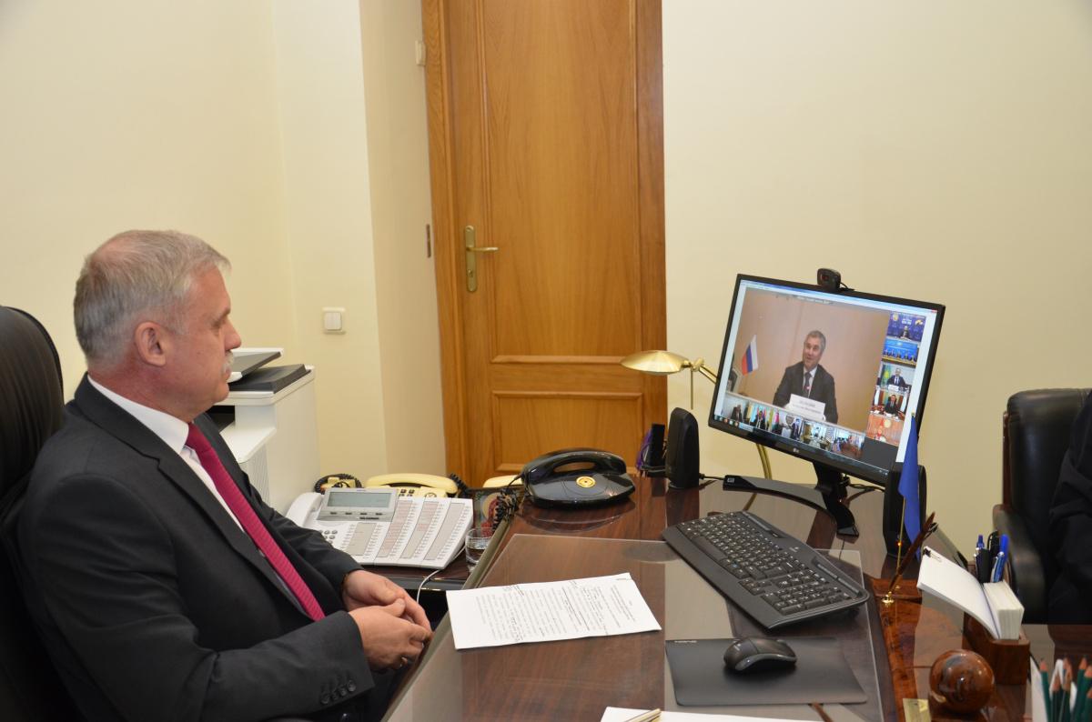Генеральный секретарь ОДКБ Станислав Зась принял участие в заседании Совета Парламентской Ассамблеи Организации Договора о коллективной безопасности и проинформировал об обстановке в зоне ответственности ОДКБ
