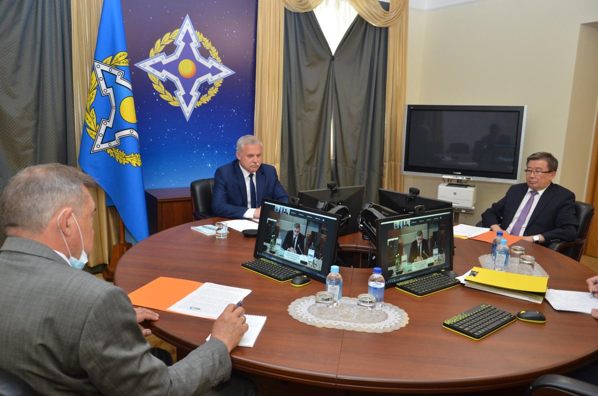 Генеральный секретарь ОДКБ Станислав Зась выступил на Форуме ОБСЕ по сотрудничеству в области безопасности
