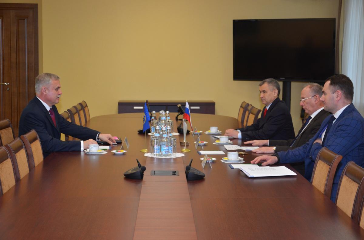 Генеральный секретарь ОДКБ Станислав Зась в Москве встретился с    Секретарем Совета Безопасности России Николаем Патрушевым
