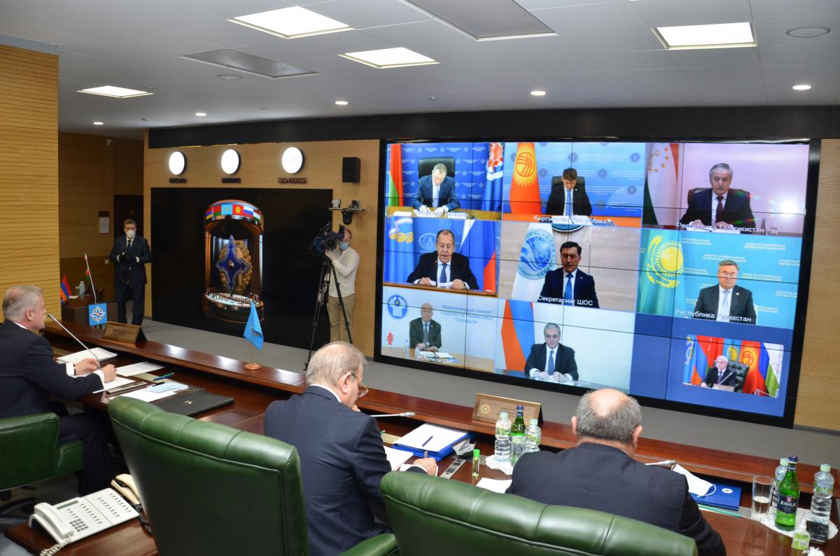 Совет министров иностранных дел ОДКБ в режиме видеоконференции 26 мая обсудил перспективы развития международной и региональной безопасности