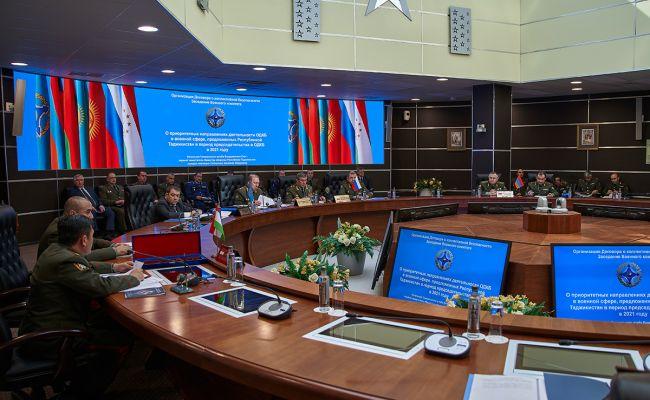 Военный комитет ОДКБ обсудил активизацию военного сотрудничества государств – членов ОДКБ, а также вызовы и угрозы военной безопасности в зоне ответственности Организации