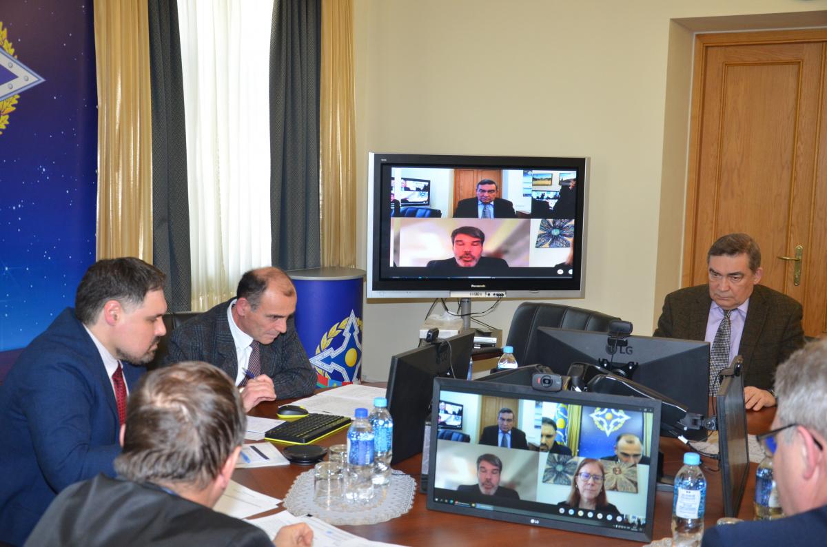 Эксперты ООН и Секретариата ОДКБ  в режиме видеоконференцсвязи провели консультации по взаимодействию в сфере  миротворческой деятельности