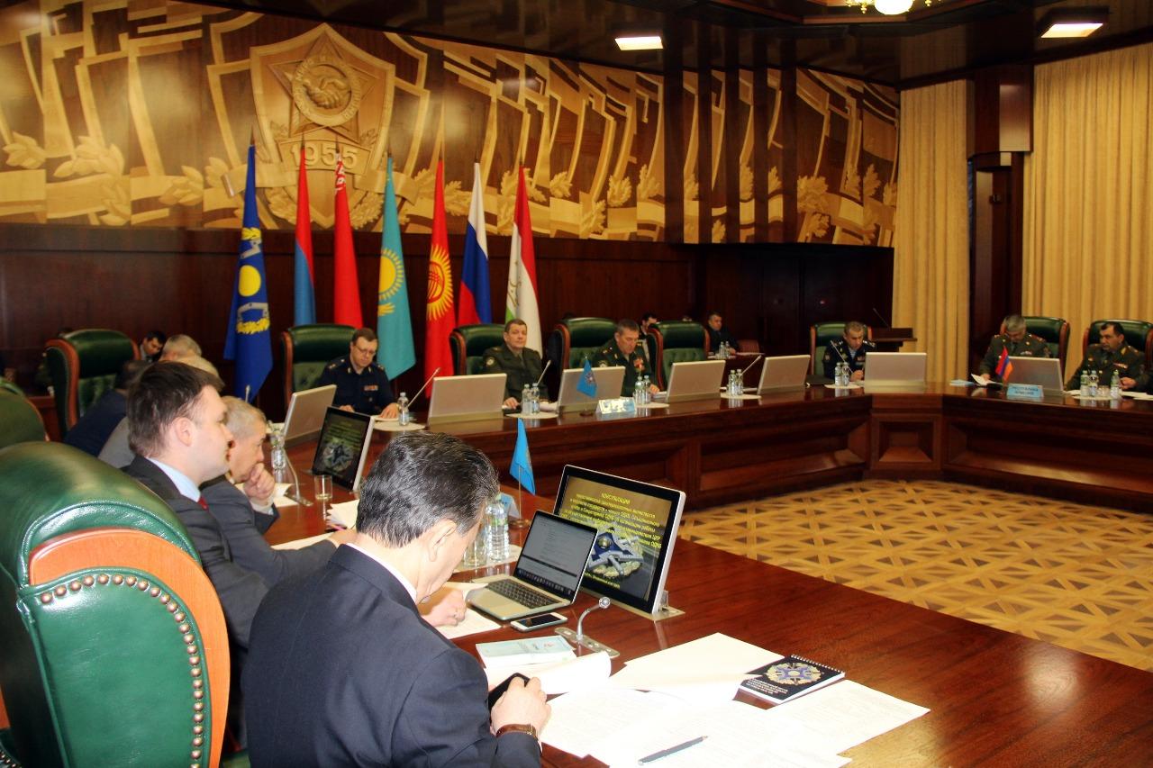 В Объединенном штабе ОДКБ состоялись консультации, направленные на дальнейшее развитие системы кризисного реагирования