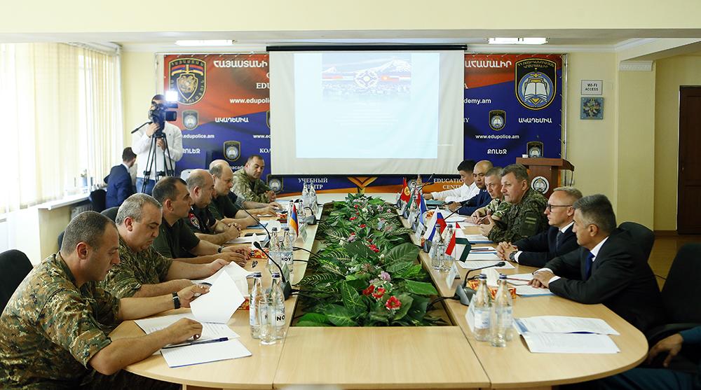 В Ереване прошли штабные переговоры по подготовке учения ОДКБ с силами спецназначения «Гром-2021»