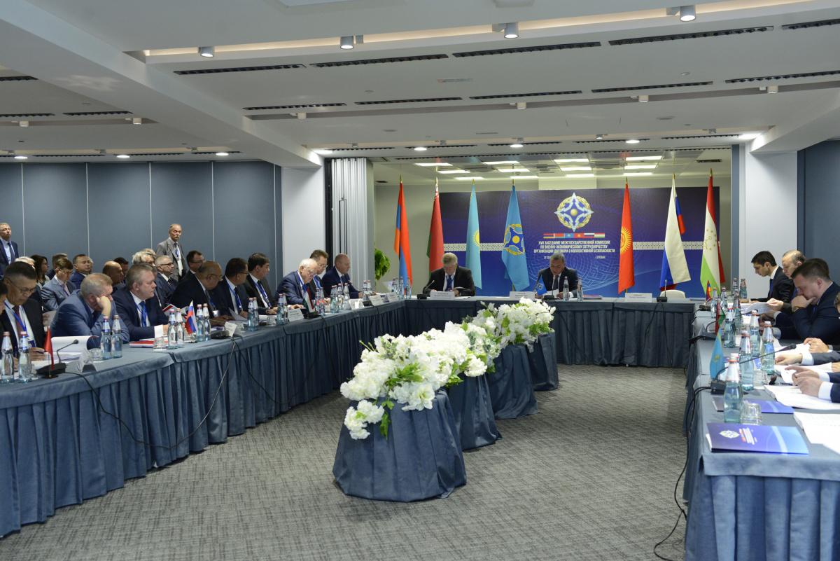 В Ереване состоялось ХVII заседание Межгосударственной комиссии по военно-экономическому сотрудничеству ОДКБ, в котором принял участие Исполняющий обязанности Генерального секретаря Организации Валерий Семериков