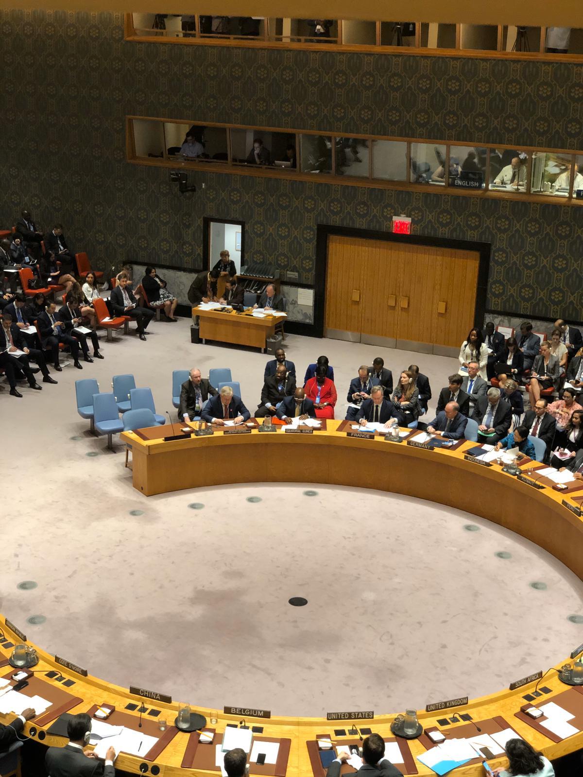 Выступление Исполняющего обязанности Генерального секретаря ОДКБ Валерия Семерикова на заседании Совета Безопасности ООН 25 сентября 2019 года