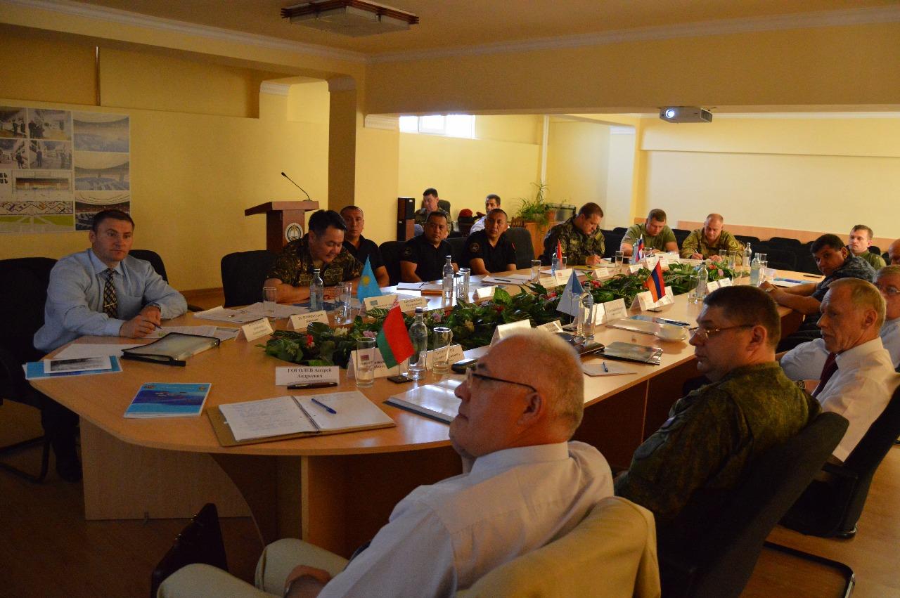 Учебно-методического сбора с командным составом специальных подразделений министерств внутренних дел (полиции) государств – членов ОДКБ
