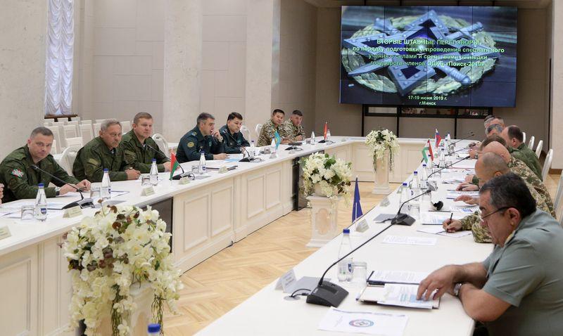 Силы и средства разведки вооруженных сил государств – членов ОДКБ готовятся  к совместному оперативно-стратегическому учению «Боевое братство-2019»