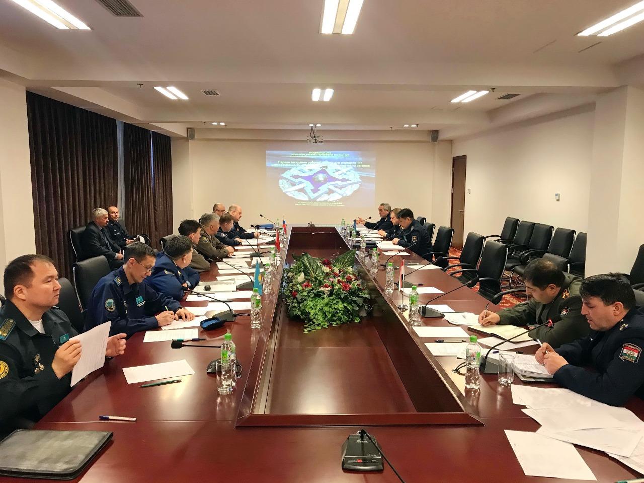 В Душанбе рабочая группа обсудила вопросы создания  объединенной системы ПВО в Центрально-Азиатском регионе