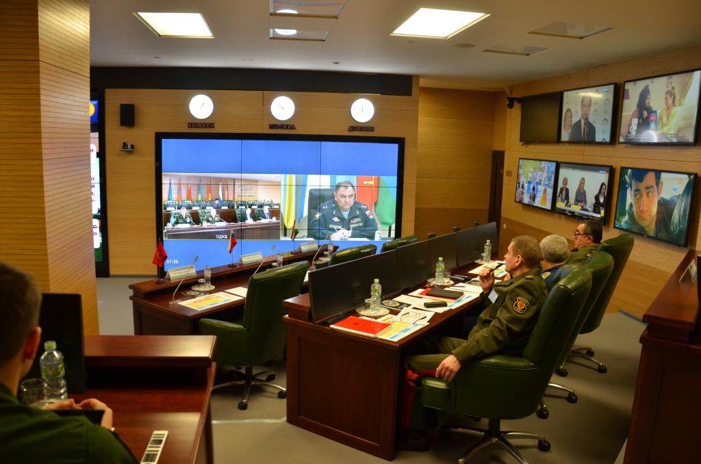 Начался первый этап совместной Деловой игры по оценке военно-политической и стратегической обстановки в зоне ответственности ОДКБ