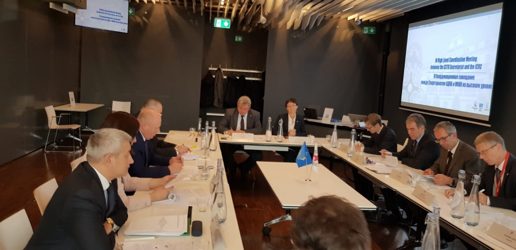 В Женеве 23 ноября состоялось 4-е Координационное совещание между ОДКБ и МККК на высоком уровне